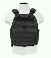 Vism Tactical MOLLE/PALS Body Armor Plate Carrier Chest Rig Vest Operator Black
