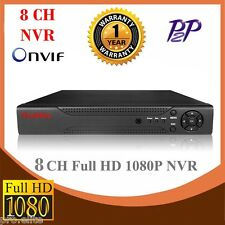 8 CH Channel NVR 1080p ONVIF Cloud P2P HDMI IP Camera Recorder H.264 CCTV
