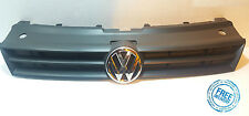 VW Polo 2009 - 2014  Front Bumper Grille Black including badge