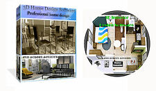 3d 2d Home House Room Office Interior Planing & Design Pro CAD Software PC CD