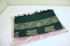 Emerald Green Beautiful Traditional Saree Sari NEW One Size