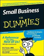 Small Business for Dummies by Eric Tyson and Jim Schell (2008, Paperback)