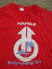 80's Vintage BAHAMAS Hafele Bahamarama 84 T-Shirt L Island Souvenir Vacation