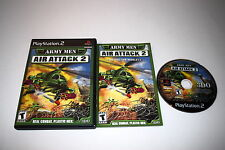 ARMY MEN AIR ATTACK 2 Playstation 2 PS2 Game COMPLETE CIB TESTED