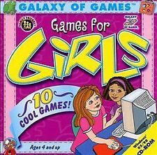 Galaxy of Games for Girls: 10 Cool Games for Ages 4 and Up; CD-ROM for Windows