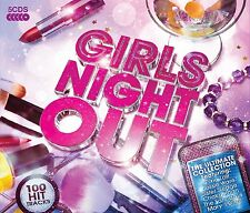 GIRLS NIGHT OUT-ULTIMATE COLLECTION 5 CD NEU CHAKA KHAN/THE SATURDAYS/J+