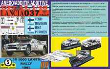 ANEXO DECAL 1/43 LANCIA 037 RALLY H.TOIVONEN 1000 LAKES R. 1985 (04)