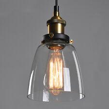 Glas Hängeleuchte Retro Vintage Pendelleuchte Blackburn Loft Edison Hängelampe
