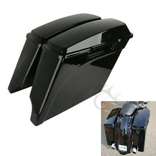 """5"""" Extended Hard Saddlebags Trunk For Harley Electra Ultra Glide Road King"""