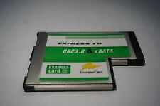 AKE USB 3.0 + eSATA II 2.0 Combo to Express Card ExpressCard 54mm Adapter