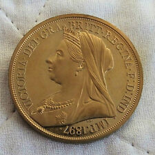 1897 REGINA VITTORIA GOLDEN prova modello CROWN
