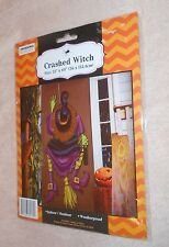 """Halloween Crashed Witch - Size 22"""" x 60"""" - Brand NEW, Sealed"""