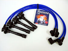 VMS 96-00 HONDA CIVIC 10.2MM RACING SPARK WIRES NGK IRIDIUM IX PLUGS COMBO BLUE