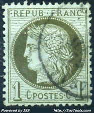 FRANCE CERES N° 50 AVEC OBLITERATION
