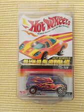 Hot Wheels Flying Customs RLC Red Line Club - 70's Van - Blue w/ Flames Protecto