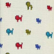 Clover Lion Dog by Cotton & Steel Blanket Cut 44 by 44 inches Double Gauze BL23