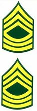 US Army Master Sergeant Decal