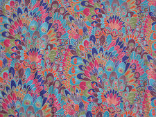 "LIBERTY OF LONDON TANA LAWN FABRIC DESIGN ""Eben A"" 2.3 METRES (230 CM) MULTI"
