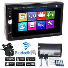 "7"" 7 inch Bluetooth Touch Screen HD 2 DIN FM/MP5/MP3/USB/AUX Car Stereo Radio"