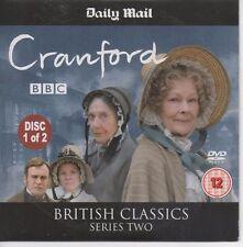 CRAWFORD Part 1 DVD Elizabeth Gaskell British Classic Period DRAMA Judi Dench