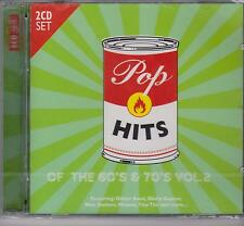 POP HITS OF THE 60S & 70S VOL. 2 on 2 CD's - NEW -