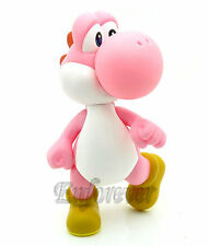 "5"" Action Figure Toy Super Mario Bros Pink Yoshi^MS597"