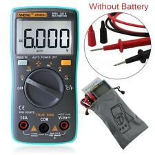 LCD Digital Multimeter 6000 Counts Backlight AC/DC Ohm Ammeter Temperature New