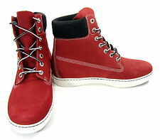 Timberland Shoes 6 Inch Premium 2.0 Cupsole Red/Black Boots Size 9 EUR 43