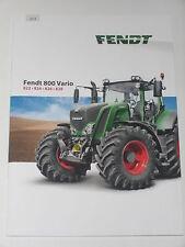 FENDT 800 VARIO Traktoren Prospekt 08/14 ( FENDT 44 )