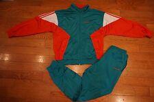 Vintage ADIDAS ORIGINALS Warm Up Track Suit Joggers Jacket Trefoil Sz M