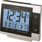 WS-8055U La Crosse Technology Digital Atomic Alarm Clock with Moon Phase