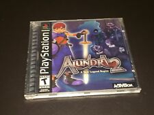 Alundra 2 PlayStation 1 PS1 w/Manual & Replacement case