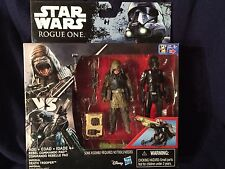 STAR WARS ROGUE ONE REBEL COMMANDER PAO & IMPERIAL DEATH TROOPER - IN HAND