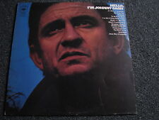 Johnny Cash-Hello I´m Johnny Cash LP-Country-UK-CBS-1970