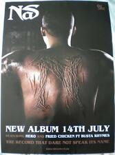 NAS The Record That Dare Not Speak Its Name Official Record Company POSTER