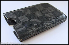 Authentic Louis Vuitton Damier Graphite 3G/3GS Mobile Cell Phone Case 4 iPhone