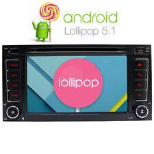 DAB+ Android 5.1.1 GPS Autoradio für VW Touareg 3G Navi RDS FM BT DVD USB WIFI