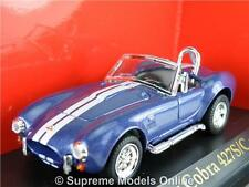 SHELBY COBRA 427S/C 1964 MODEL CAR 1/43RD SCALE BLUE PACKAGED ISSUE K8967Q~#~
