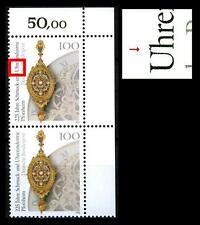 1628 f 10 ** (Uhrenindustrie in Pforzheim) Eckpaar, postfrisch Luxus