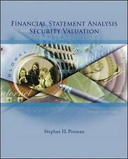 Financial Statement Analysis and Security Valuation, Penman, Stephen H, Used; Go