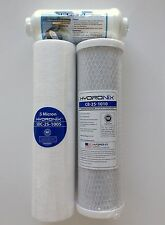 RAINSOFT 9596 22 GPD FILTER PACK WITH IN LINE- CITY AND WELL WATER NO MEMBRANE