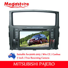 "7"" Car DVD Player GPS Stereo Nav Radio BT IPOD For Mitsubishi Pajero 2006-2013"