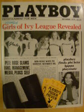 Original Playboy Magazine September 1979 Girls of the Ivy League, Vicky McCarty