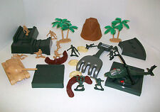 Sizzlin Cool Army Dune Patrol Sand Shape & Mold Diorama Toys Set Soldiers 27Pcs