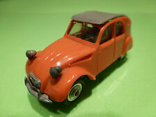 NOREV 1:43  - CITROEN 2CV az LUXE NO= 56  - PLASTIC  - GOOD CONDITION