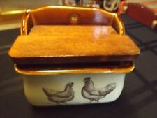Vintage Enesco 1979 Country Road salt cellar