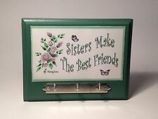 SISTERS MAKE THE BEST FRIENDS WALL KEY RACK BIRTHDAY GIFT IDEAS FOR HER