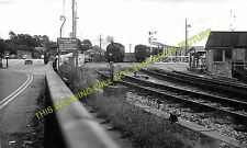 Lymington Pier Railway Station Photo. Brockenhurst Line. L&SWR. (2)