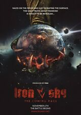POSTER IRON SKY THE COMING RACE (2017) TIMO VUORENSOLA - GERMANY SA20