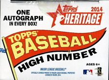 2014 TOPPS HERITAGE HIGH NUMBER BASEBALL COMPLETE SET BLOWOUT CARDS